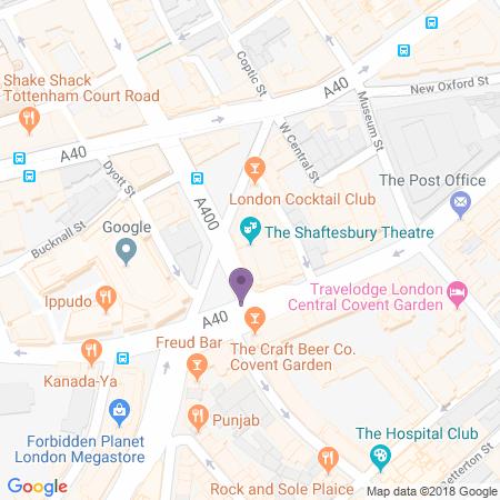 Posizione Shaftesbury Theatre