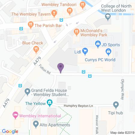 Posizione Troubadour Theatre - Wembley