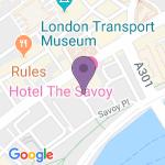 Savoy Theatre - Indirizzo del teatro