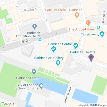 Posizione Barbican Theatre