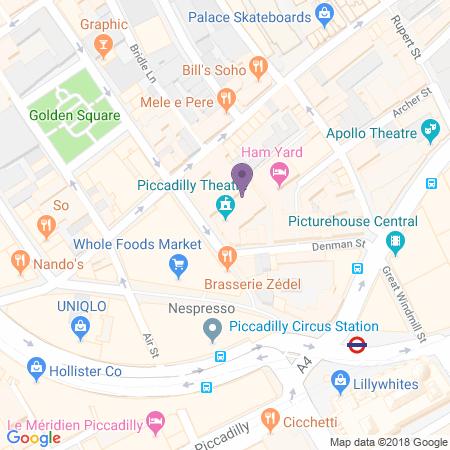 Posizione Piccadilly Theatre